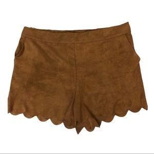 RD Style Stitch Fix Scalloped Shorts Size Large